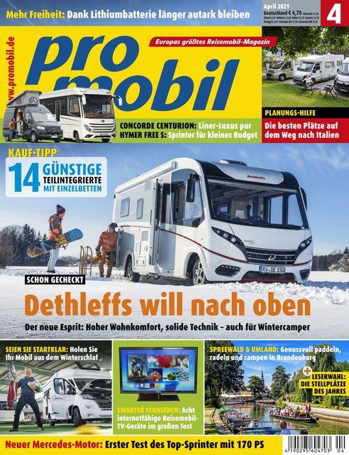 Promobil Ausgabe 04/2021