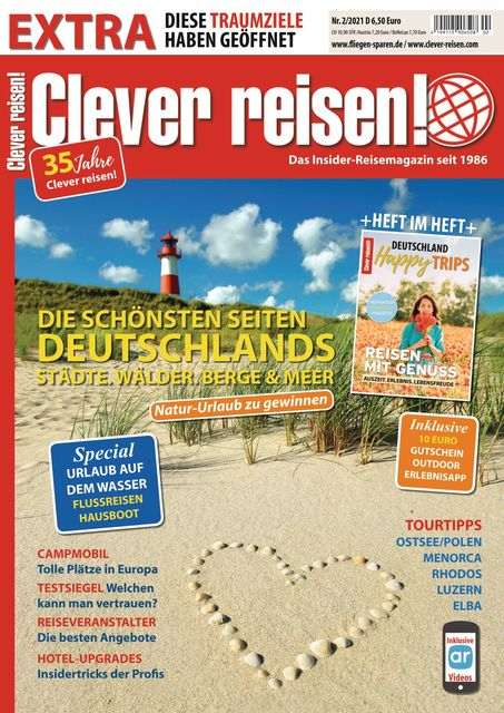 Clever reisen! Ausgabe 02/2021