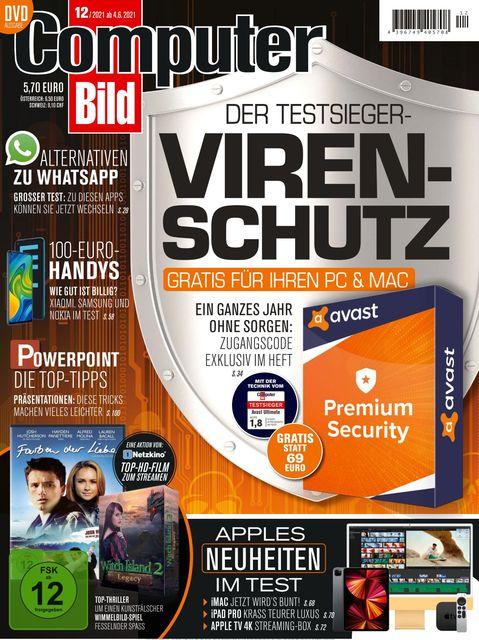 Computer BILD DVD Ausgabe Computerbild