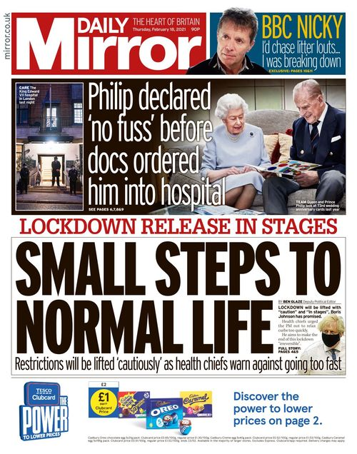 Daily Mirror 2021-02-18