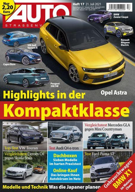 Auto Straßenverkehr 2021-07-20