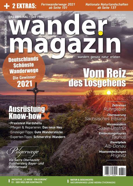 Wandermagazin Ausgabe 212 (Herbst 2021)