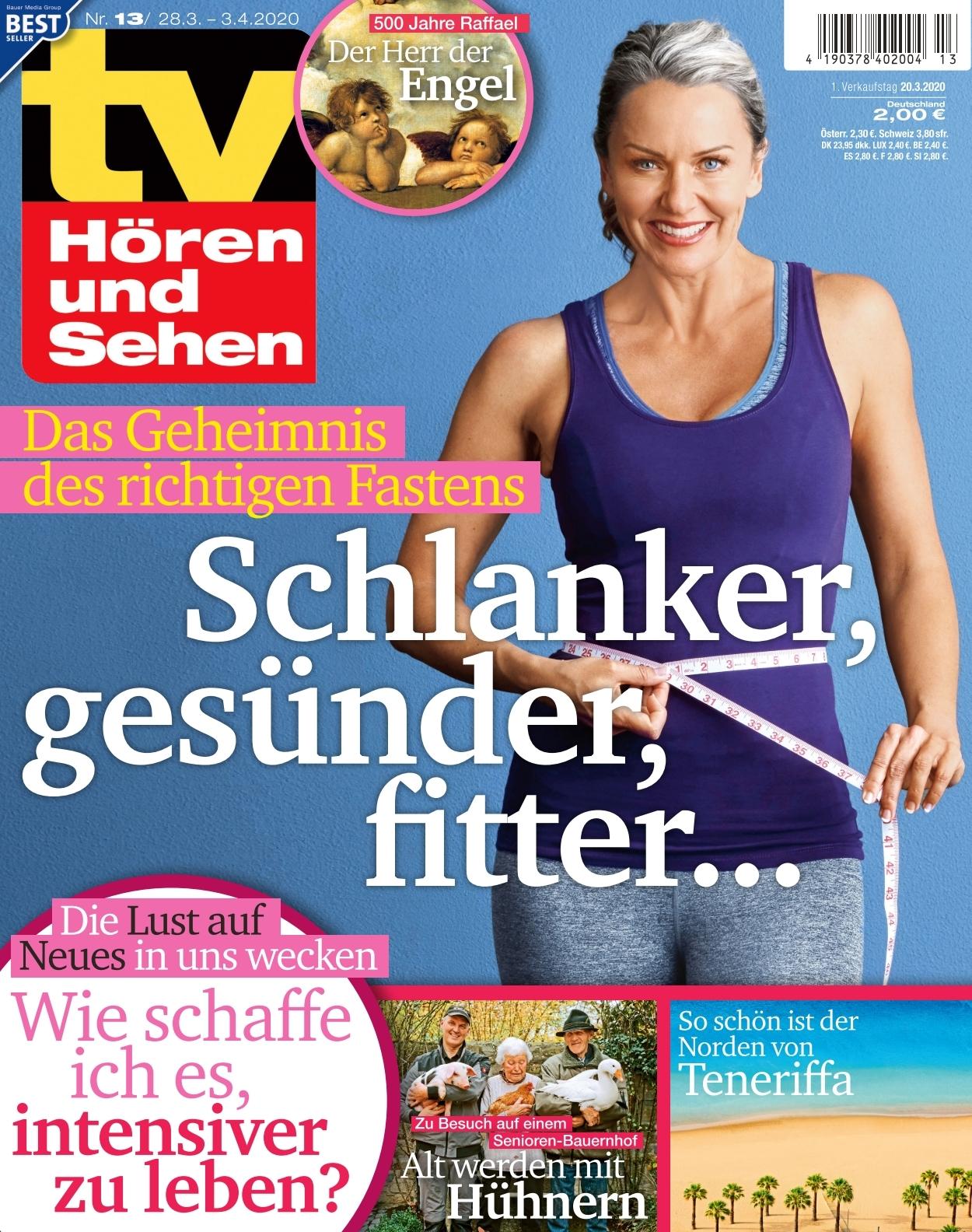 Tv Horen Und Sehen Ausgabe 13 2020