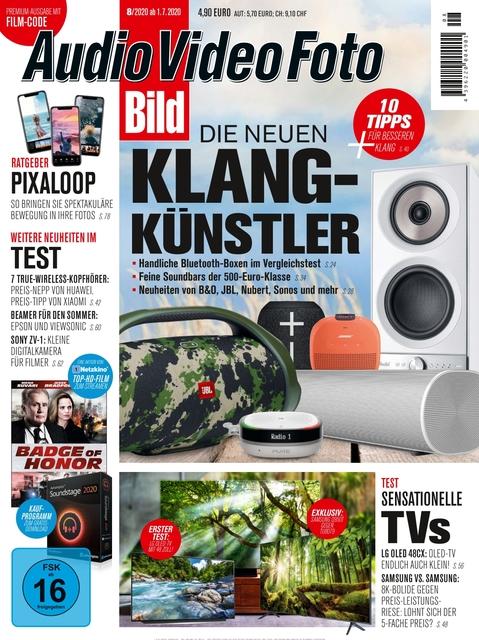 Audio Video Foto BILD Premium Ausgabe 08/2020