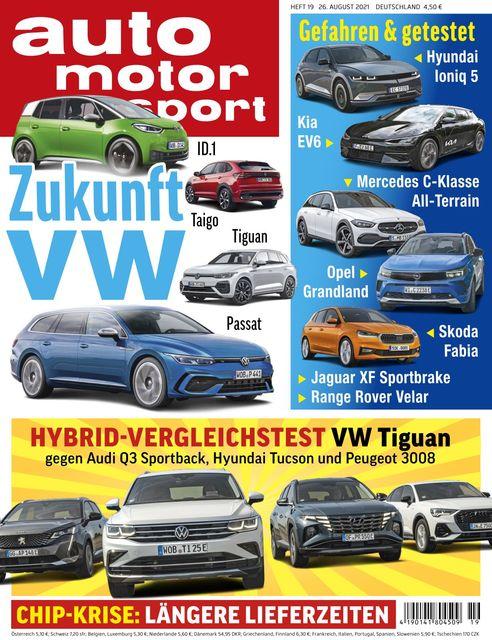 Auto Motor und Sport 2021-08-25