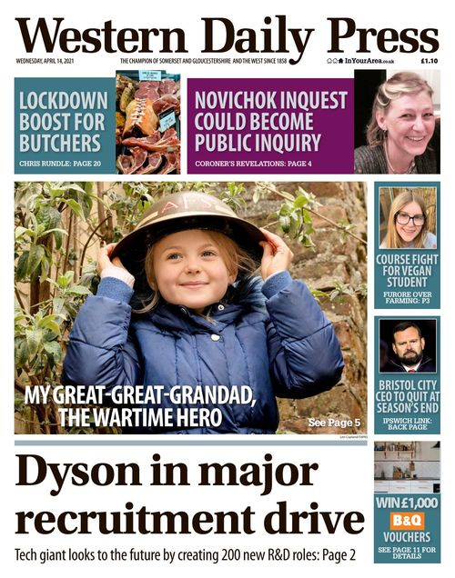 Western Daily Press 2021-04-14