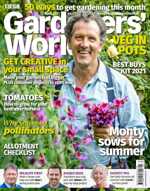 BBC Gardeners' World issue 04/2021