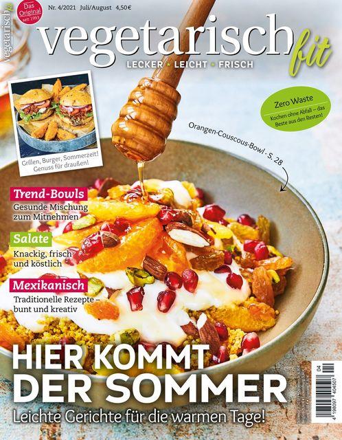 Vegetarisch fit Ausgabe 04/2021