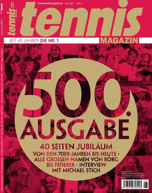 tennis MAGAZIN Ausgabe 06/2021