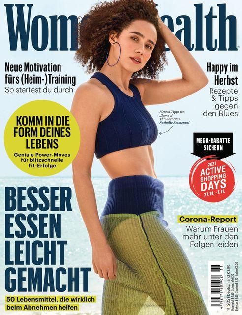 WOMEN'S HEALTH Ausgabe 11/2021