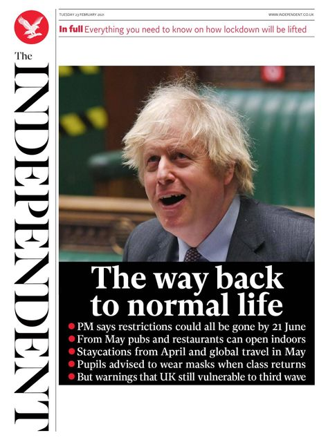 The Independent 2021-02-23