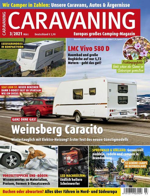 Caravaning Ausgabe 03/2021