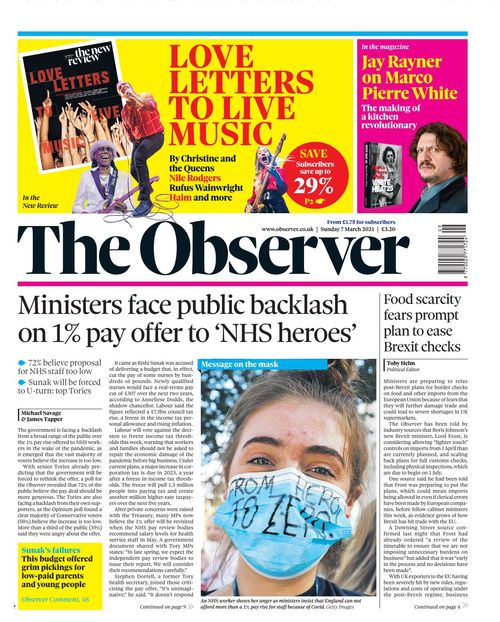 The Observer 2021-03-07