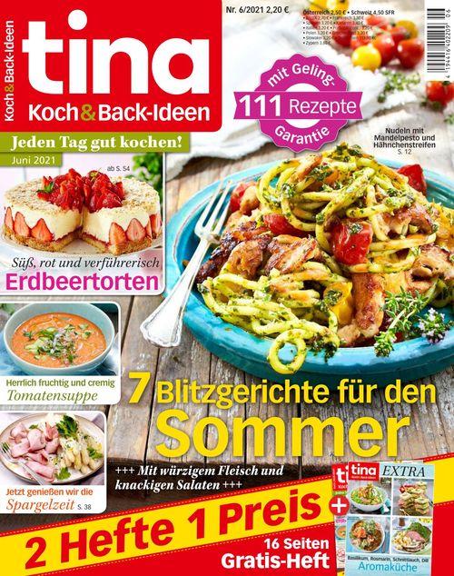 tina Koch und Backideen Ausgabe 6/2021