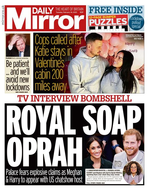 Daily Mirror 2021-02-16