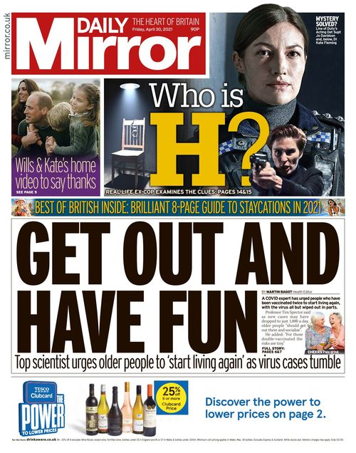 Daily Mirror 2021-04-30