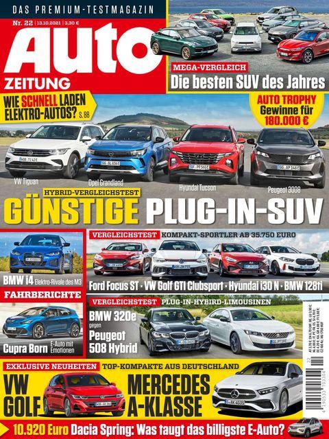 AUTO ZEITUNG Ausgabe 22/2021