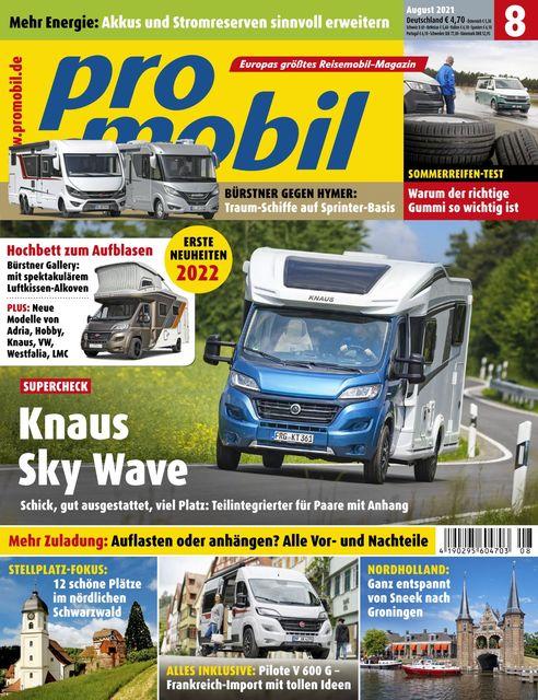 Promobil Ausgabe 08/2021