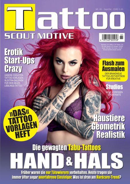 Tattoo Scout Ausgabe Nr. 85