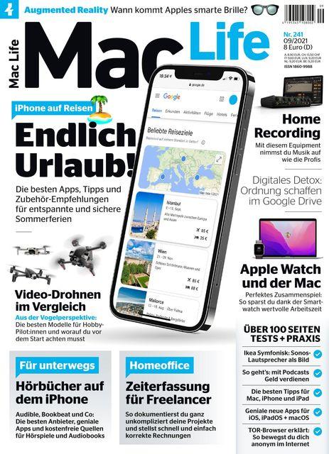 Mac Life Ausgabe 09/2021