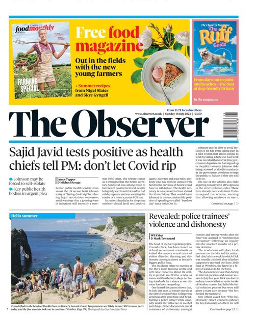 The Observer 2021 07 18