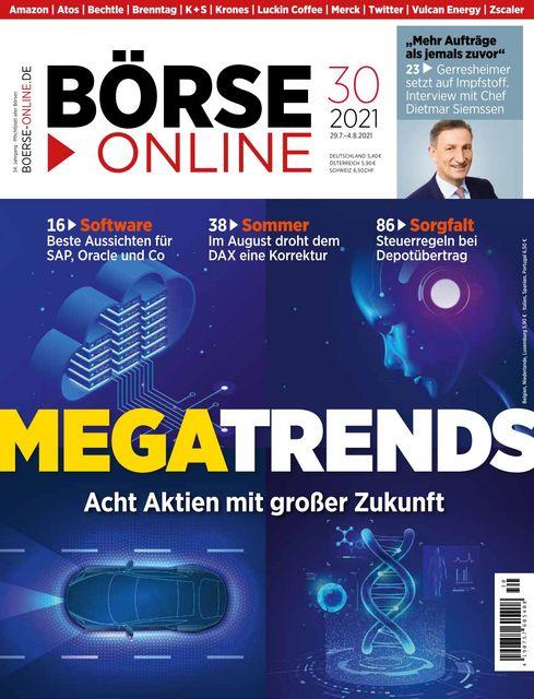 Börse Online Ausgabe 30/2021