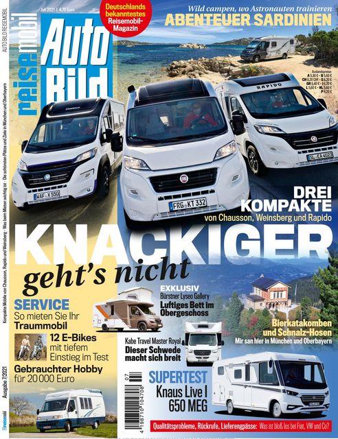 AUTO BILD Reisemobil 2021-06-10