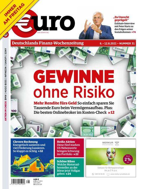 Euro am Sonntag 2021-08-06