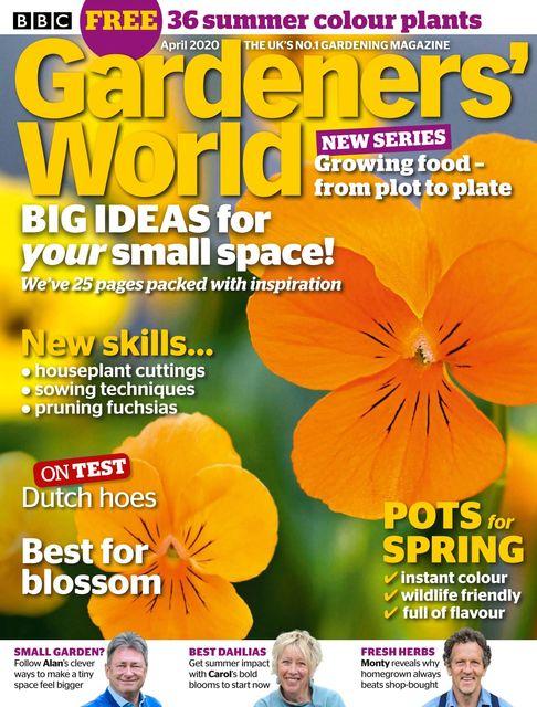 BBC Gardeners' World issue 04/2020