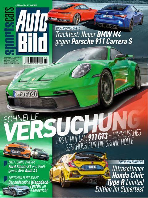 AUTO BILD Sportscars Ausgabe 06/2021