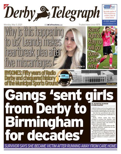 Derby Telegraph 2021-05-03