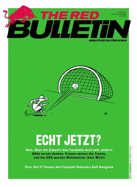 The Red Bulletin Schweiz Magazin Ausgabe 07-08/2021
