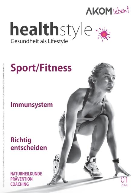 healthstyle - Gesundheit als Lifestyle Ausgabe 01/2020