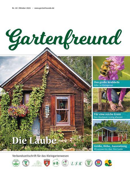 Gartenfreund Ausgabe 10/2021