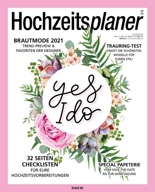 Hochzeitsplaner Ausgabe 04/2020