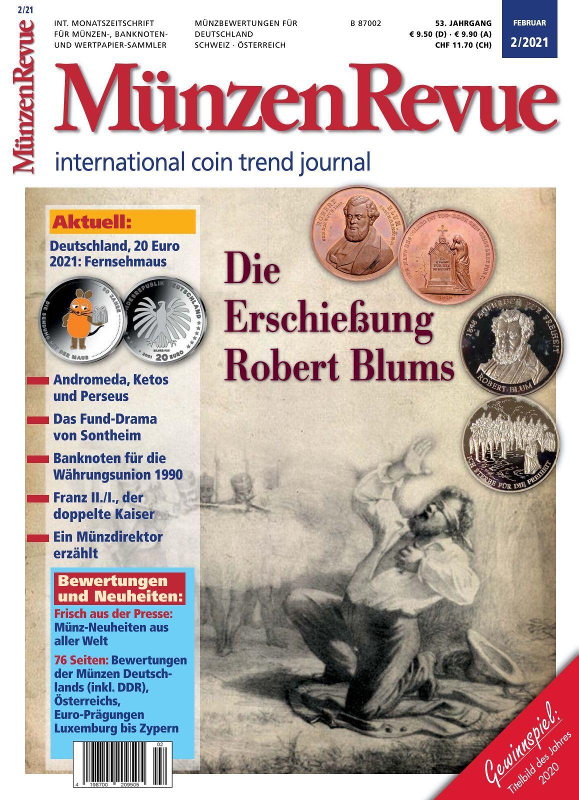 MünzenRevue   Ausgabe 8/281