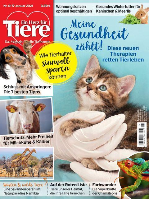 Ein Herz für Tiere Ausgabe 01/2021