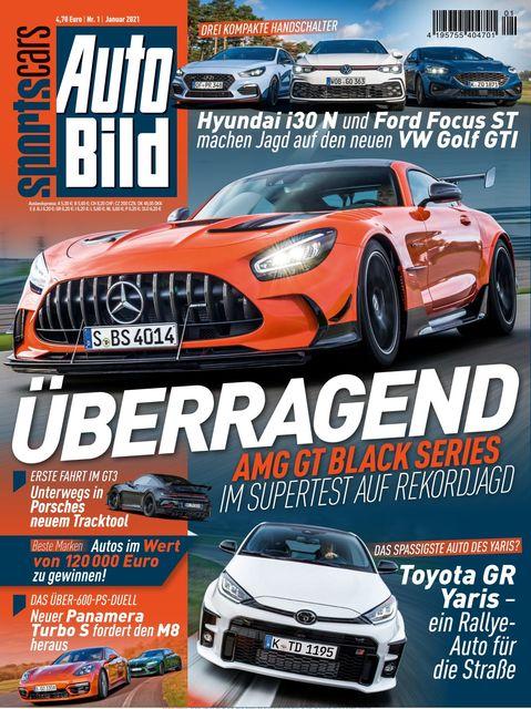AUTO BILD Sportscars Ausgabe 01/2021