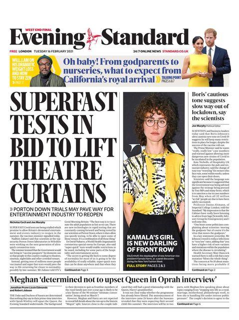Evening Standard 2021-02-16
