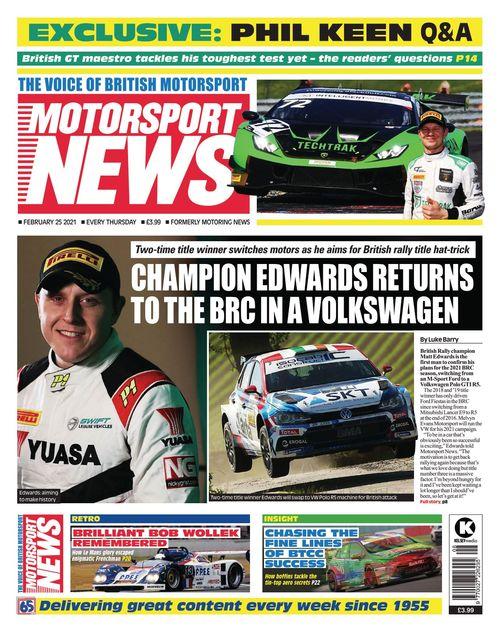 Motorsport News 2021-02-25