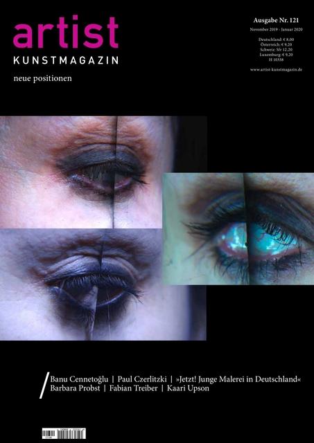 Artist Kunstmagazin 121
