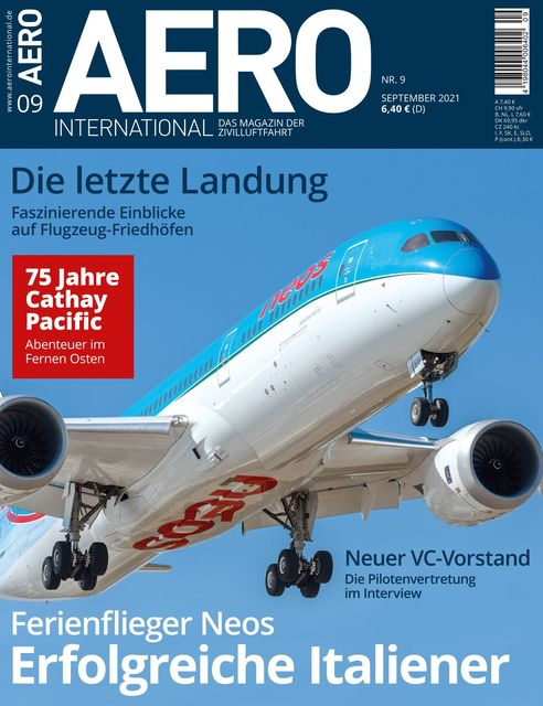 AERO INTERNATIONAL Ausgabe 09/2021