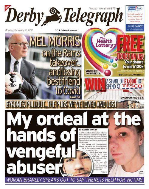 Derby Telegraph 2021-02-15