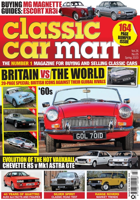 Classic Car Mart issue Spring 2020