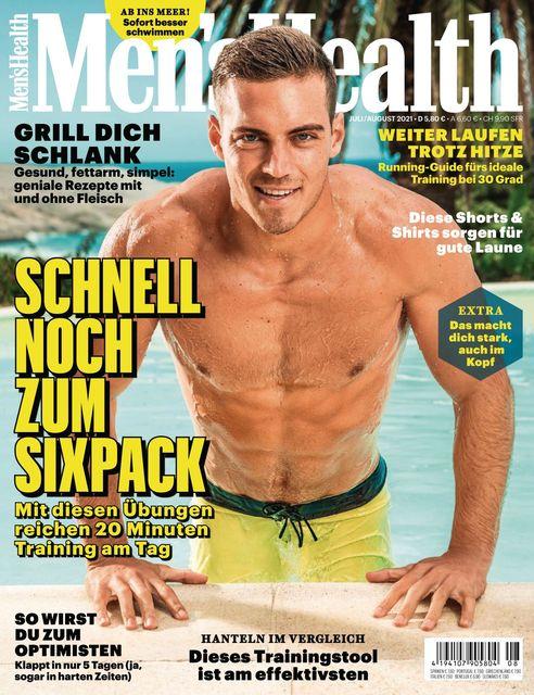 MEN'S HEALTH Magazin Ausgabe 07-08/2021