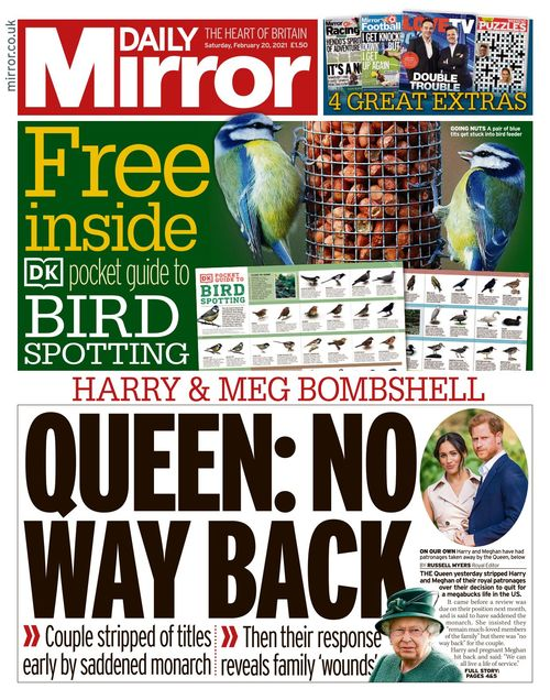 Daily Mirror 2021-02-20