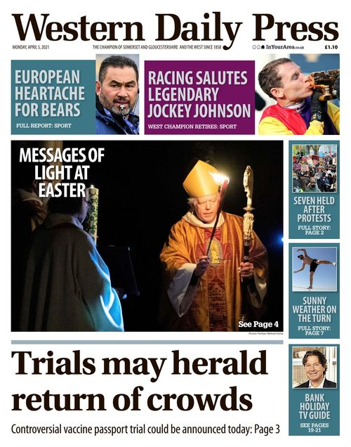 Western Daily Press 2021-04-05
