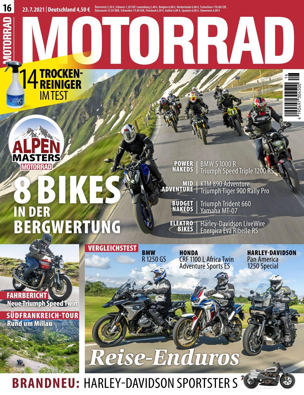 Motorrad   8 8 8