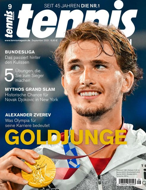 tennis MAGAZIN Ausgabe 09/2021