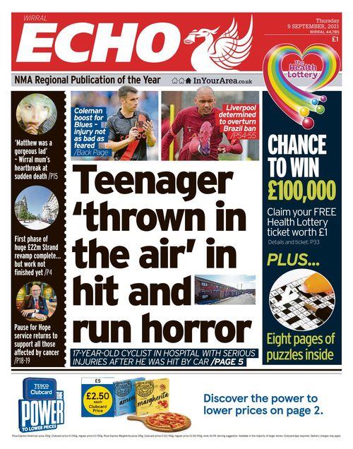 Liverpool Echo 2021-09-09